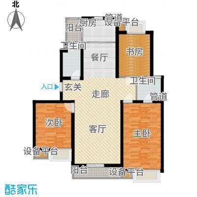 枫叶新家园120.00㎡面积12000m户型