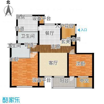 枫叶新家园160.00㎡面积16000m户型