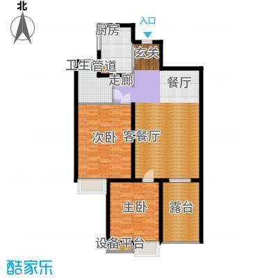 枫叶新家园115.00㎡面积11500m户型