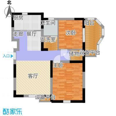 华鑫学府城85.86㎡E3(5#楼)面积8586m户型