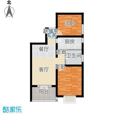 金茂晓苑80.00㎡1面积8000m户型