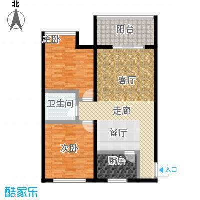 旭景兴园93.26㎡3#楼1单元3号房面积9326m户型
