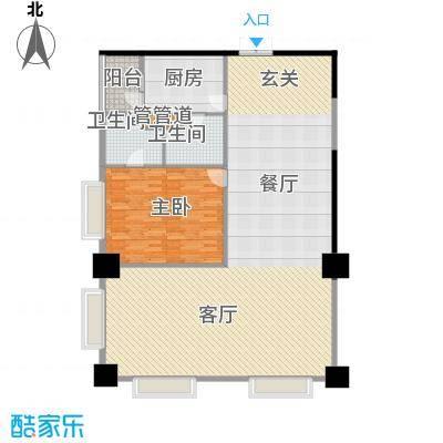 紫薇田园都市配套公寓153.00㎡紫面积15300m户型