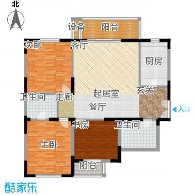 新兴IN之家142.36㎡B面积14236m户型