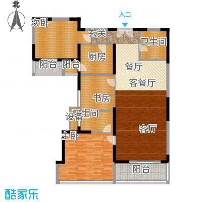 新兴IN之家148.25㎡E面积14825m户型