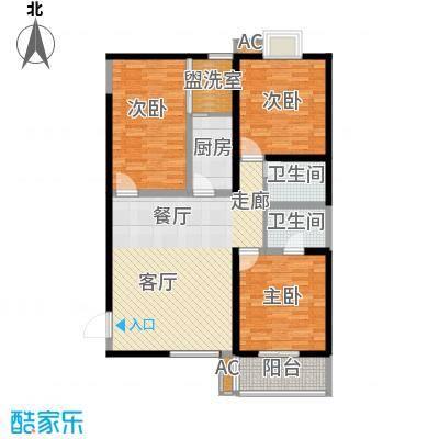 宝枫佳苑122.18㎡C7D3D42面积12218m户型