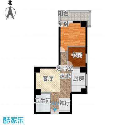 中天国际公寓105.56㎡1面积10556m户型