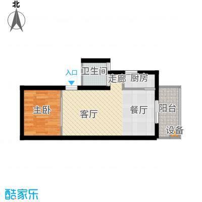 李家村万达广场56.00㎡面积5600m户型