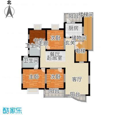 数码家园183.42㎡面积18342m户型