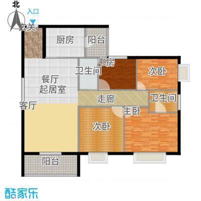 皇家公馆168.60㎡A面积16860m户型