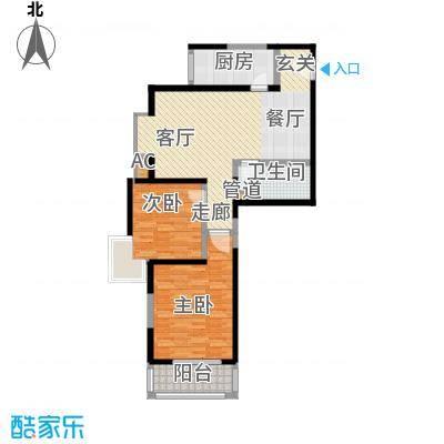 万华园琳苑小区93.00㎡面积9300m户型