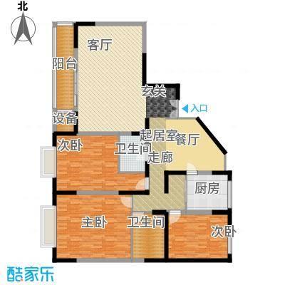 双威温馨花园158.24㎡1面积15824m户型