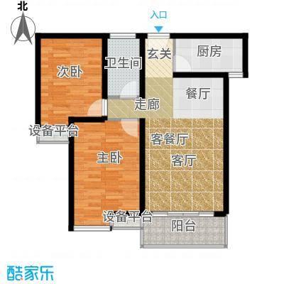 江林新城99.13㎡三期7号楼D3面积9913m户型