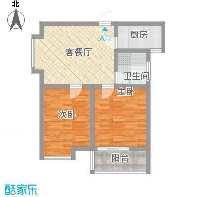 江林新城88.10㎡4#楼面积8810m户型