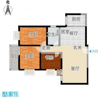 曲江春晓苑122.00㎡面积12200m户型