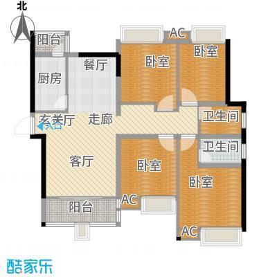 曲江翠竹园139.00㎡面积13900m户型