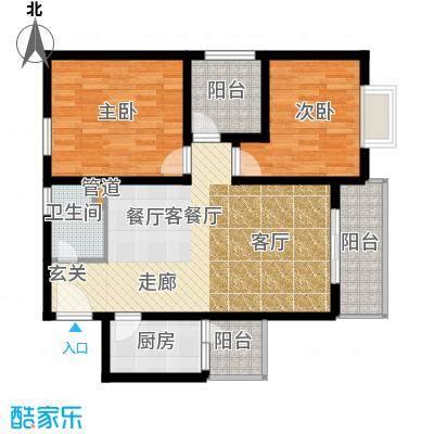 鑫龙天然居户型