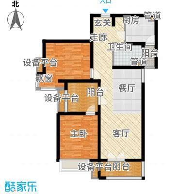 枫叶新家园131.00㎡面积13100m户型