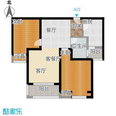 中海曲江碧林湾89.00㎡两面积8900m户型