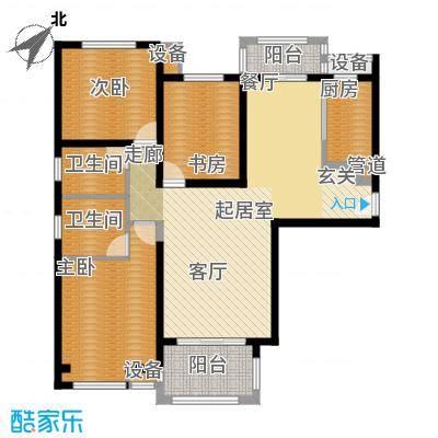 中海曲江碧林湾129.00㎡三面积12900m户型