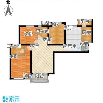 中海曲江碧林湾130.00㎡三面积13000m户型