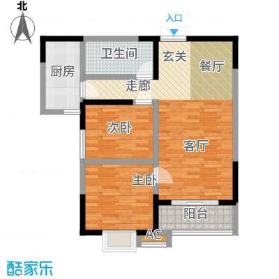 中闻传媒广场93.83㎡1#/2#/3#C户型
