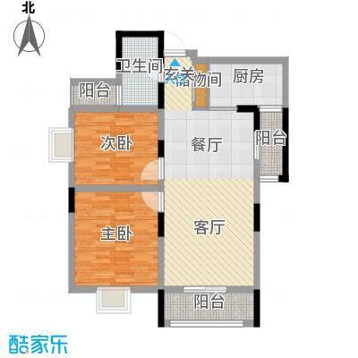 景寓学府105.65㎡西区2#/6#楼户型