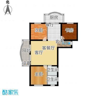 金裕青青家园128.83㎡面积12883m户型