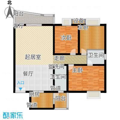 金裕青青家园165.95㎡面积16595m户型