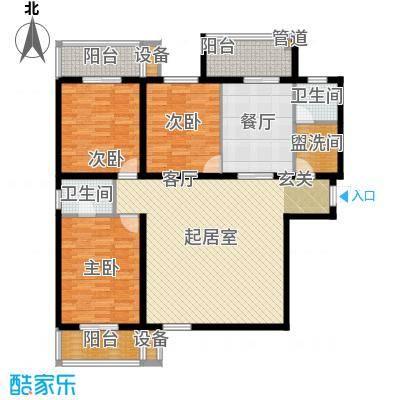 金裕青青家园147.71㎡面积14771m户型
