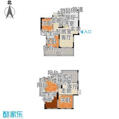 新里魏玛公馆236.60㎡面积23660m户型