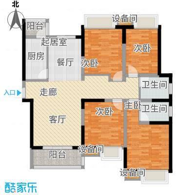 海荣阳光城139.00㎡面积13900m户型