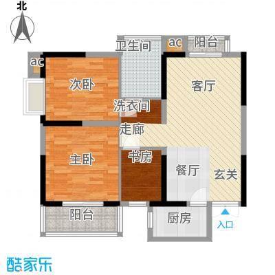 天坛佳苑(地块)94.11㎡天坛佳苑公寓1#A/01户型