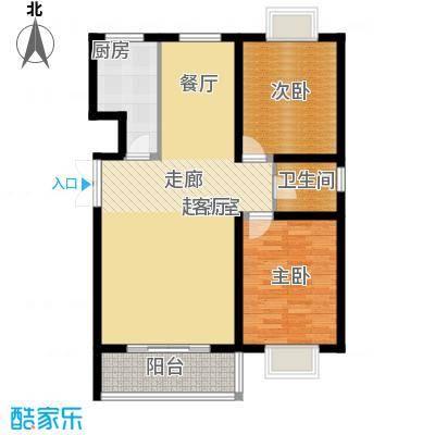 辰龙香树湾89.83㎡辰龙・香树湾4号楼/5号楼户型
