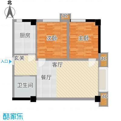 天坛佳苑(地块)91.17㎡天坛佳苑公寓1#G/06户型
