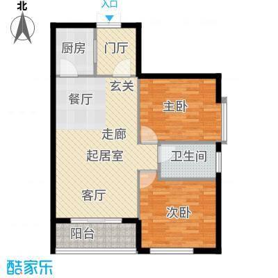 达生凤苑国际94.50㎡达生・凤苑国际C户型