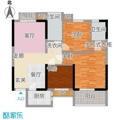 天坛佳苑(地块)104.92㎡天坛佳苑公寓1#C/04户型