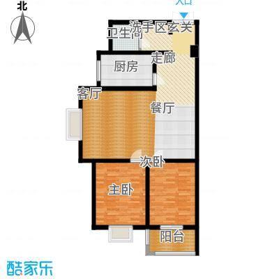 郦景澜庭101.96㎡二期1-3号楼C2户型