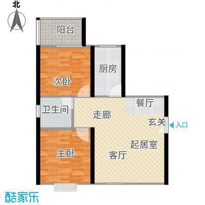 上林沣苑92.96㎡户型
