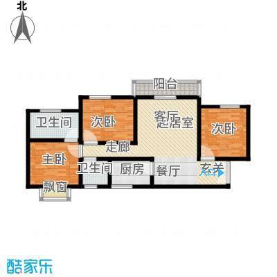 上林沣苑120.31㎡3#/14#/17#楼户型