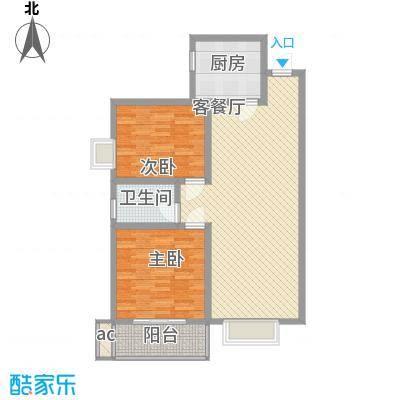 城西印象100.55㎡三期7号楼/8号楼C户型
