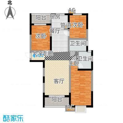 中闻传媒广场131.75㎡4#/5#H户型