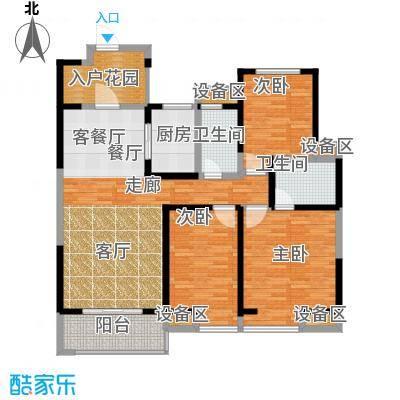 曲江紫汀苑130.23㎡2-C户型