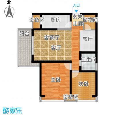 曲江紫汀苑108.00㎡2-E户型