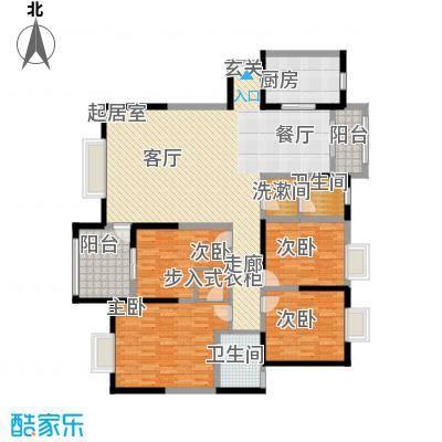 曲江观山悦190.97㎡户型