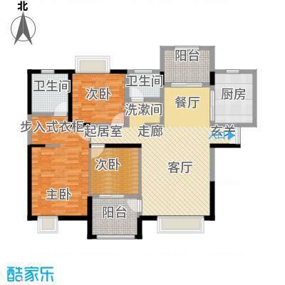 曲江观山悦141.56㎡户型