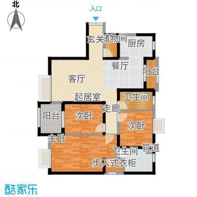 曲江观山悦146.81㎡户型