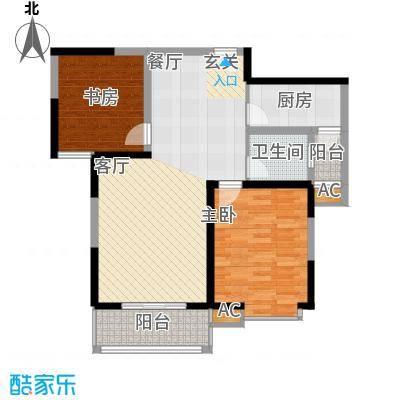 天香心苑85.00㎡B户型