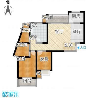 天香心苑106.00㎡7#C户型