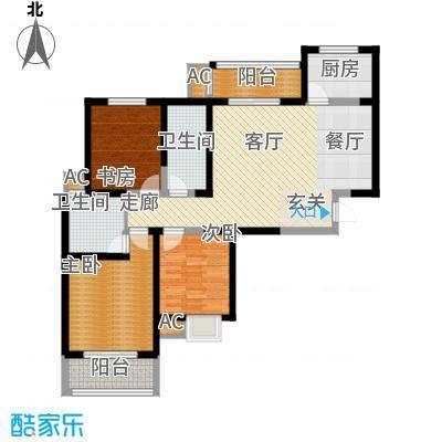 天香心苑112.20㎡2期7#B户型